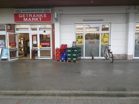 Markgrafen Getränke- Vertrieb Fil. Birkenwerder - Hauptstr. 96/98 ...