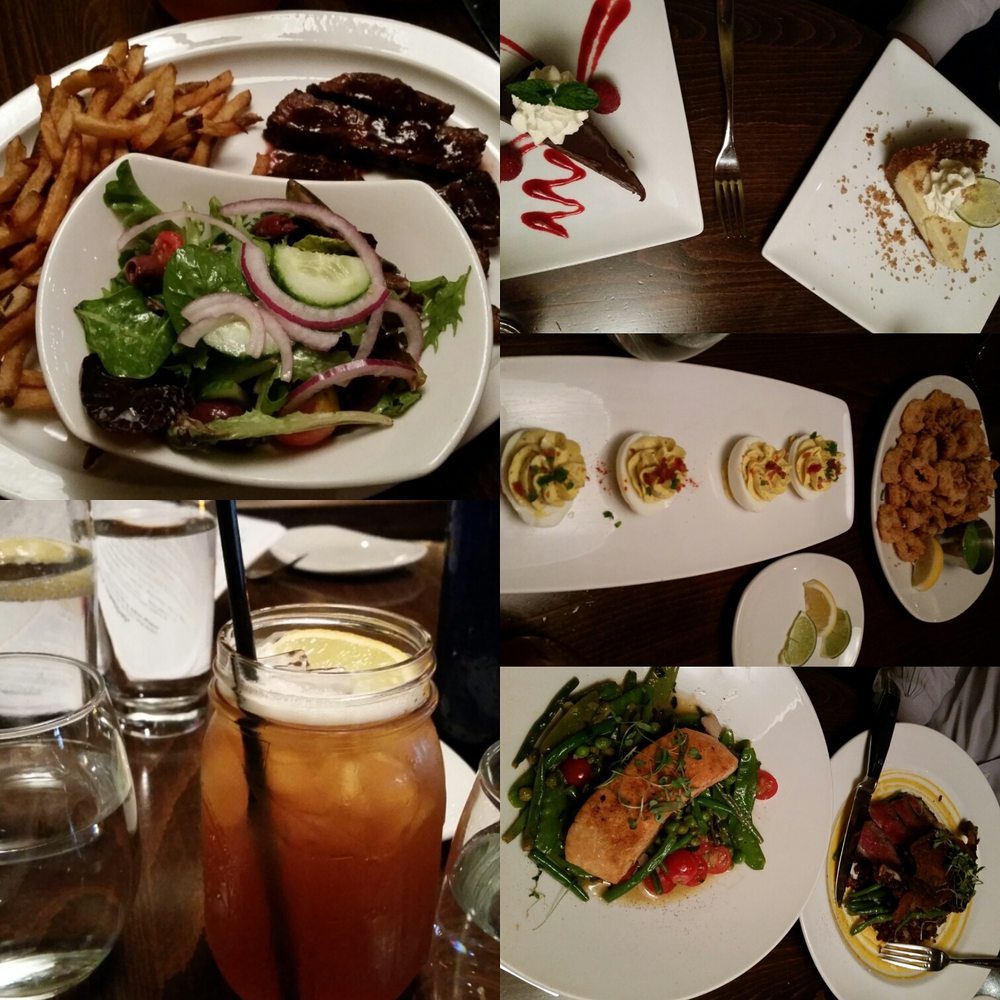 Dishes and drinks from dinner yelp for Silver spring italian kitchen
