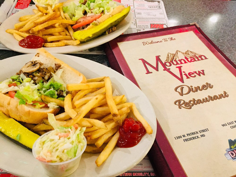 Mountain View Diner: 1300 W Patrick St, Frederick, MD
