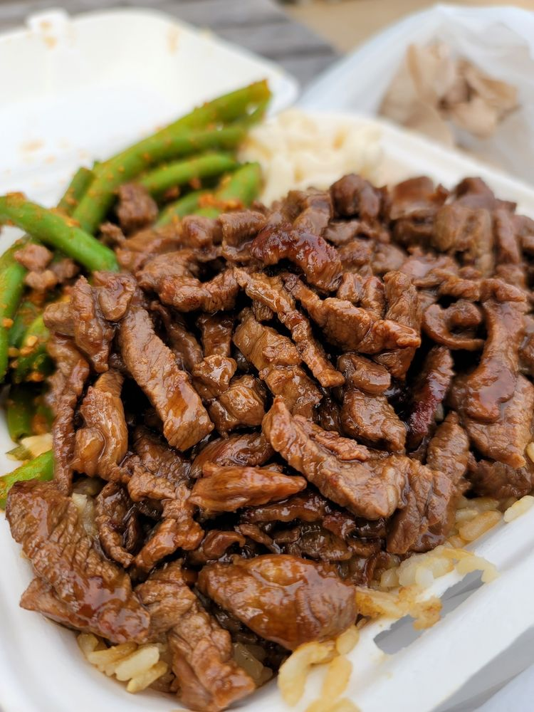 Mochiko Hawaiian BBQ and Deli: 365 Merchant Walk Square, Charlottesville, VA