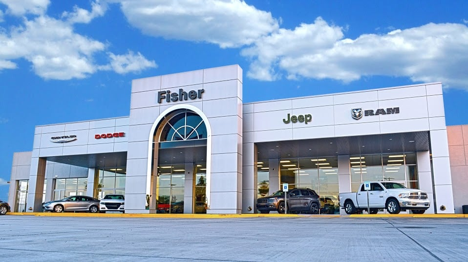 fisher chrysler dodge jeep ram    reviews