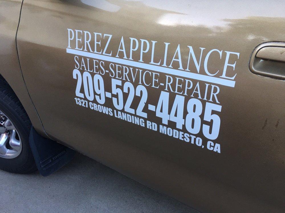 Perez Appliance Appliances Amp Repair 1327 Crows Landing
