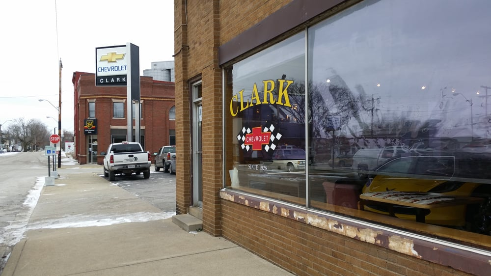 Clarks Chevrolet Sales Inc: 105 N Division St, Cayuga, IN