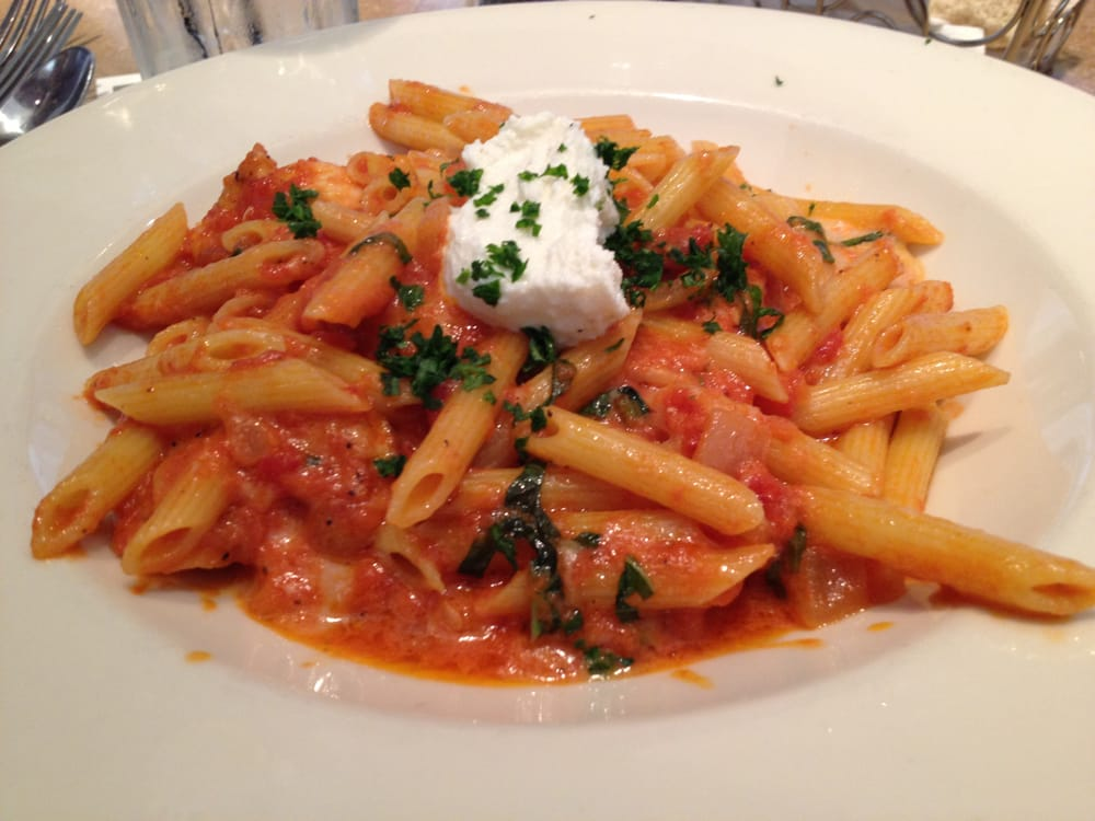 The Cheesecake Factory - Skokie, IL, United States. Four Cheese Pasta ...