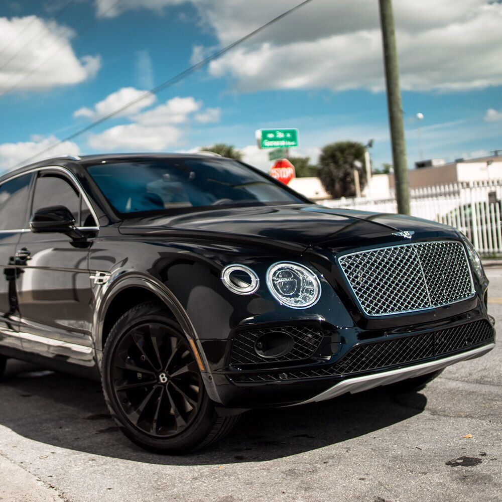 Bentley Bentayga ! Who's the only rental company with the new ...