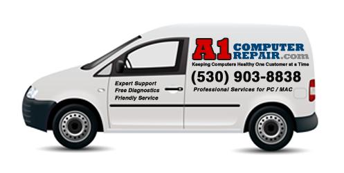 A1 Computer Repair: 540 Pleasant Valley Rd, Diamond Springs, CA