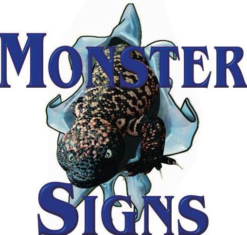 Monster Signs: 1131 W Grant Rd, Tucson, AZ