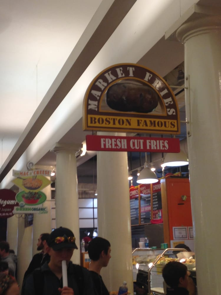 Faneuil Hall Food Review