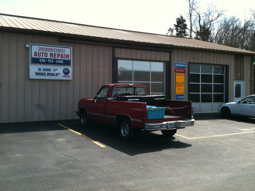 Jefferson County Auto Repair: 1238 Commercial Blvd, Herculaneum, MO