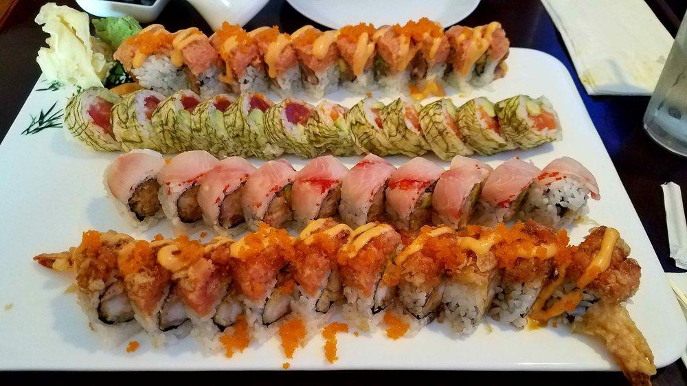 Food from Izu Sushi Japanese Restaurant