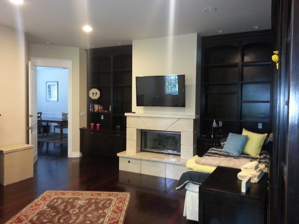 plasma tv over fireplace hidden wiring sherman oaks yelp
