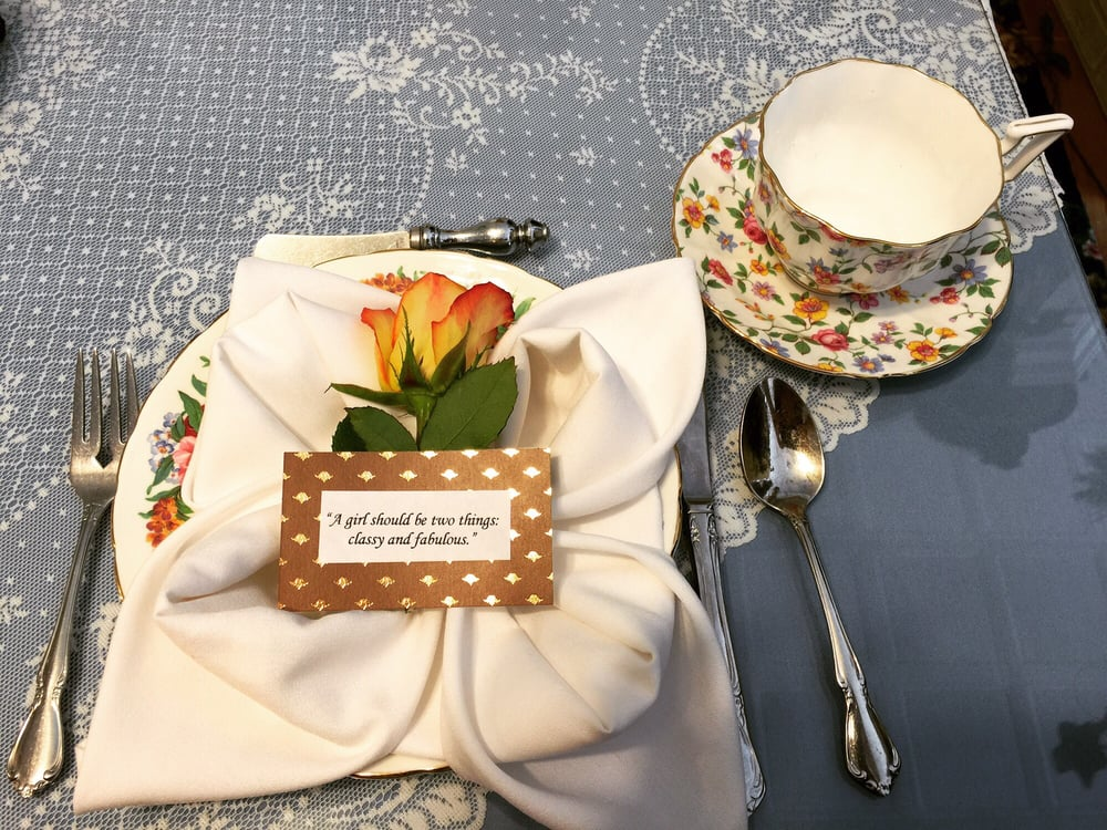The Secret Garden Tea Café & Gift Shoppe: 225 Main St, Port Jefferson, NY