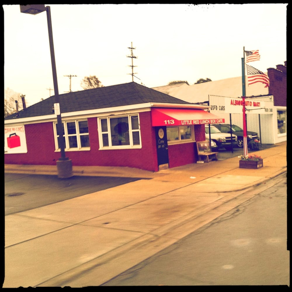 Little Red Lunch Box: 113 E Michigan Ave, Albion, MI
