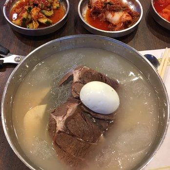 Photo Of Kunjip Restaurant Santa Clara Ca United States Cold Noodles On
