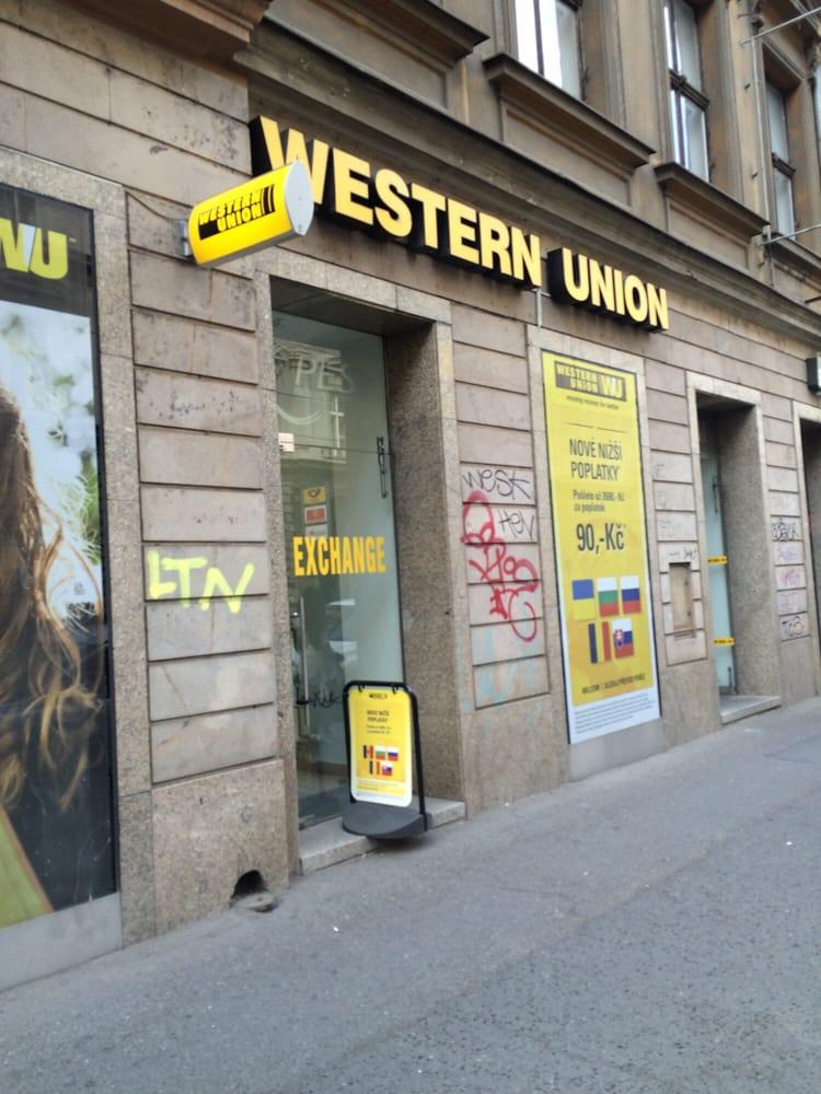 Pes western union bureau de change jind i sk 7 nov for Bureau western union