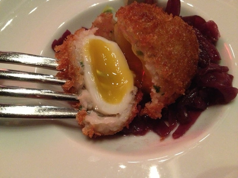 Scotch Egg. (Hell\'s Kitchen Limited Edition Tasting Menu) - Yelp