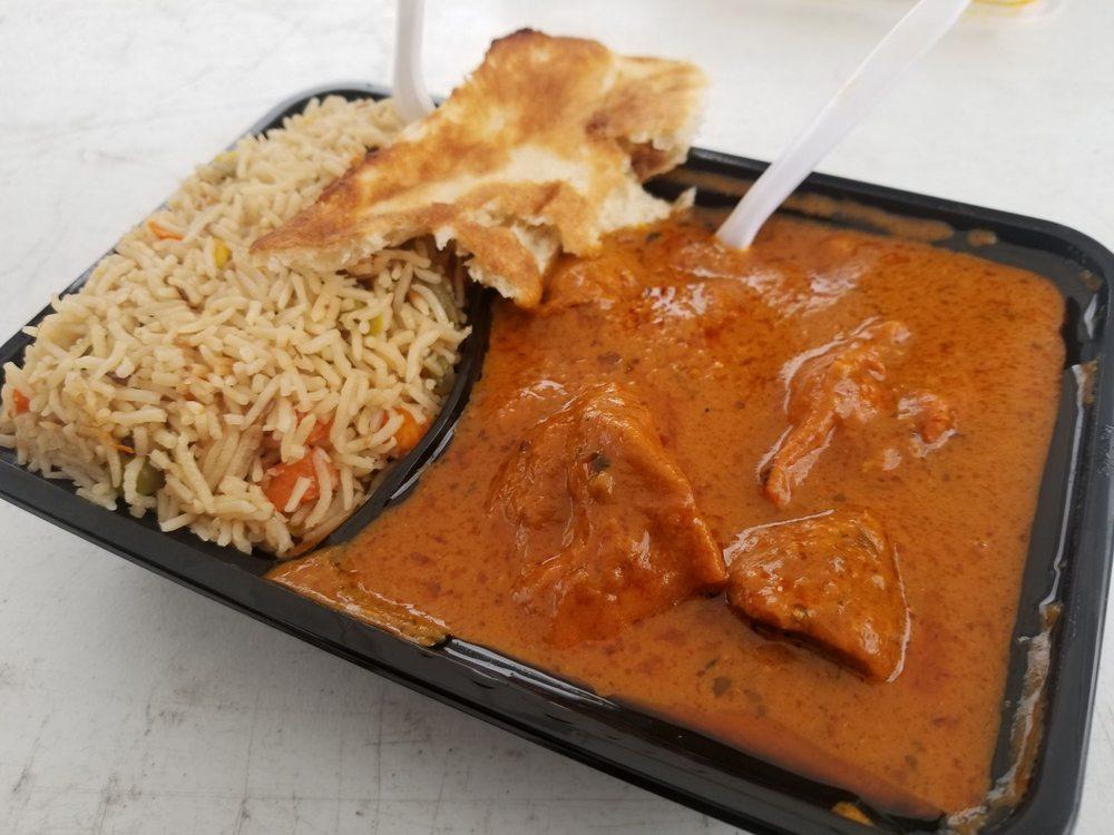 Mashallah Halal Food Indian and Pakistani Food Truck