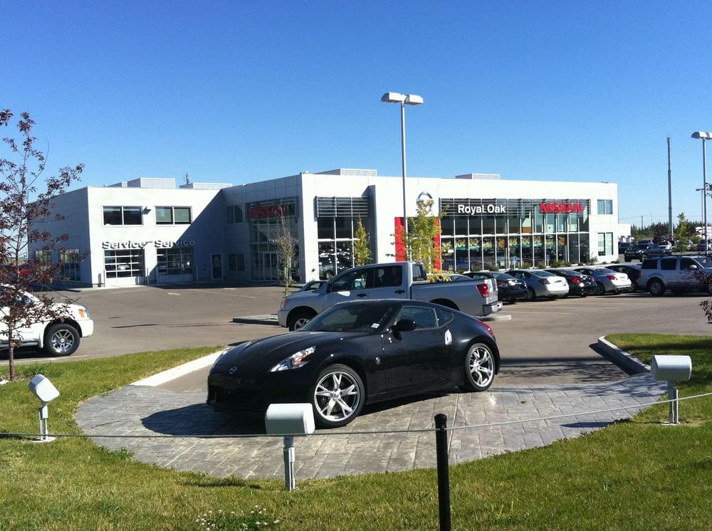 Royal Oak Nissan Car Dealers 7690 110 Avenue Nw