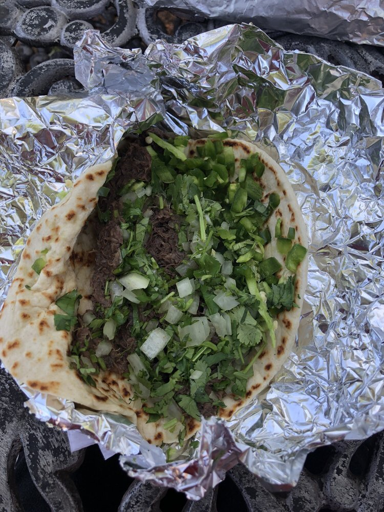 Food from Mary's Tacos