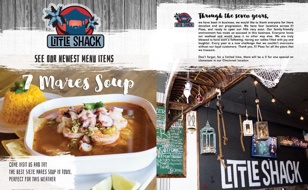 Little Shack: 5360 N Mesa St, El Paso, TX