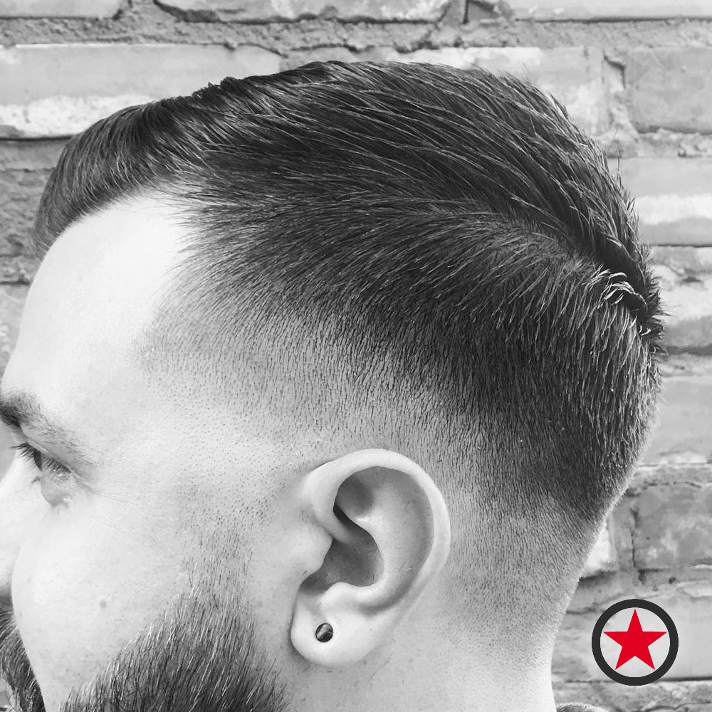 Fade Haircut By Heavy D The Barber Yelp