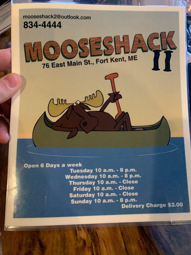 Mooseshack: 76 E Main St, Fort Kent, ME