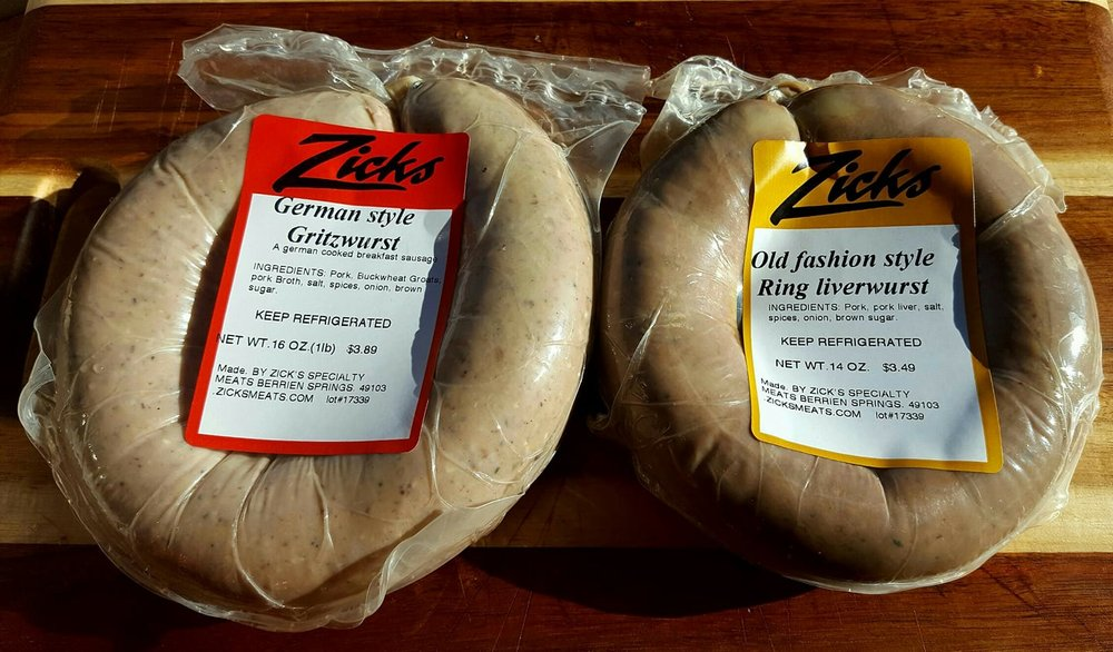 Zick's Specialty Meats: 215 N Mechanic St, Berrien Springs, MI