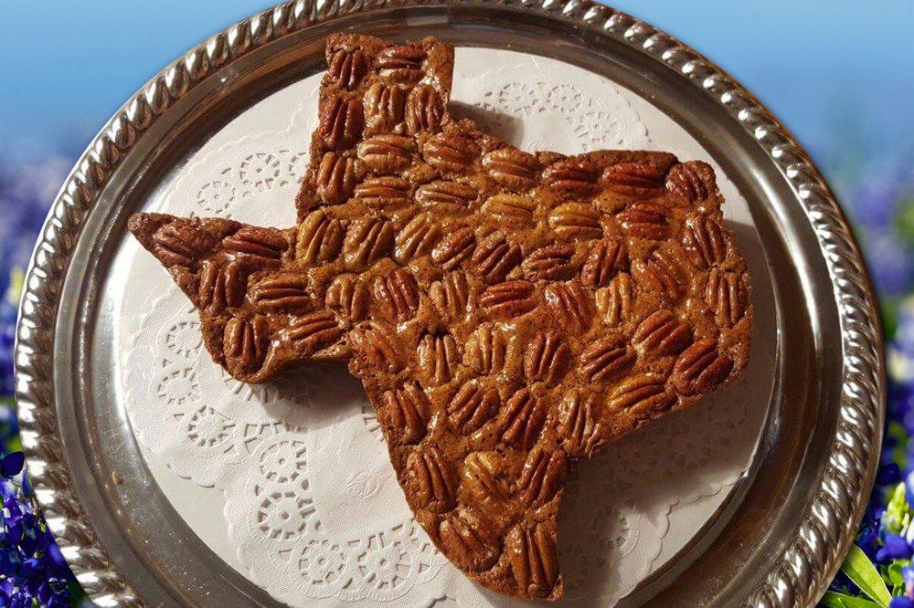The Texas Pecan Cake Shop: 170 S Gabriel St, Bertram, TX