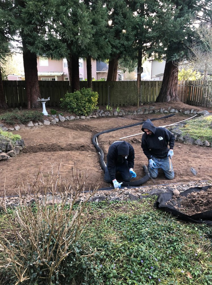 Drainage Masters: 6703 NE 219th St, Battle Ground, WA