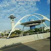 'Photo of Los Angeles International Airport - LAX - Los Angeles, CA, United States. The Famous LAX Landmark.........The Theme Building.' from the web at 'https://s3-media2.fl.yelpcdn.com/bphoto/tvoTNV3UJY-FXXKArvog_g/168s.jpg'