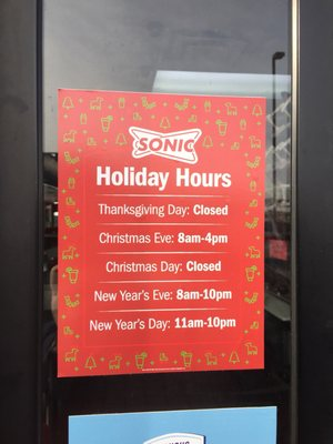 Sonic Christmas Hours.Sonic Drive In 23 Photos 24 Reviews Burgers 6206 E Broad St