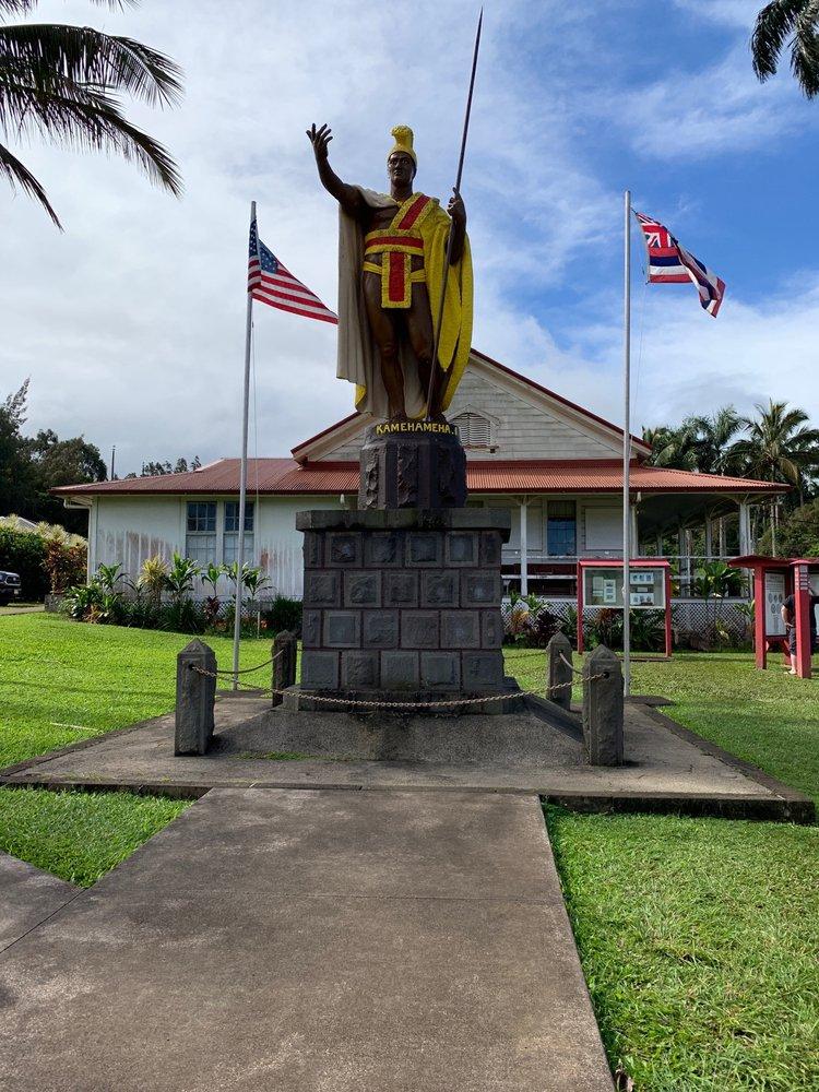 King Kamehameha I Statue: Akoni Pule Hwy, Kapaau, HI