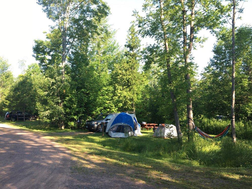 South Shore Campground: 23650 State Hwy 13, Cornucopia, WI