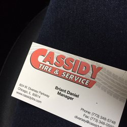 cassidy tire coupons