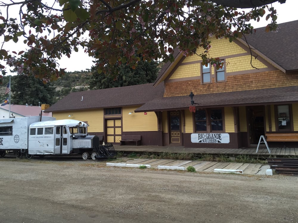 Rio Grande Southern Railroad Museum: 421 Railroad Ave, Dolores, CO