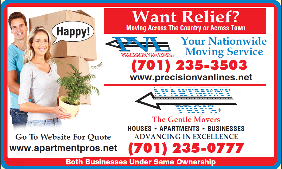 Apartment Pros -The Gentle Movers: Fargo, ND