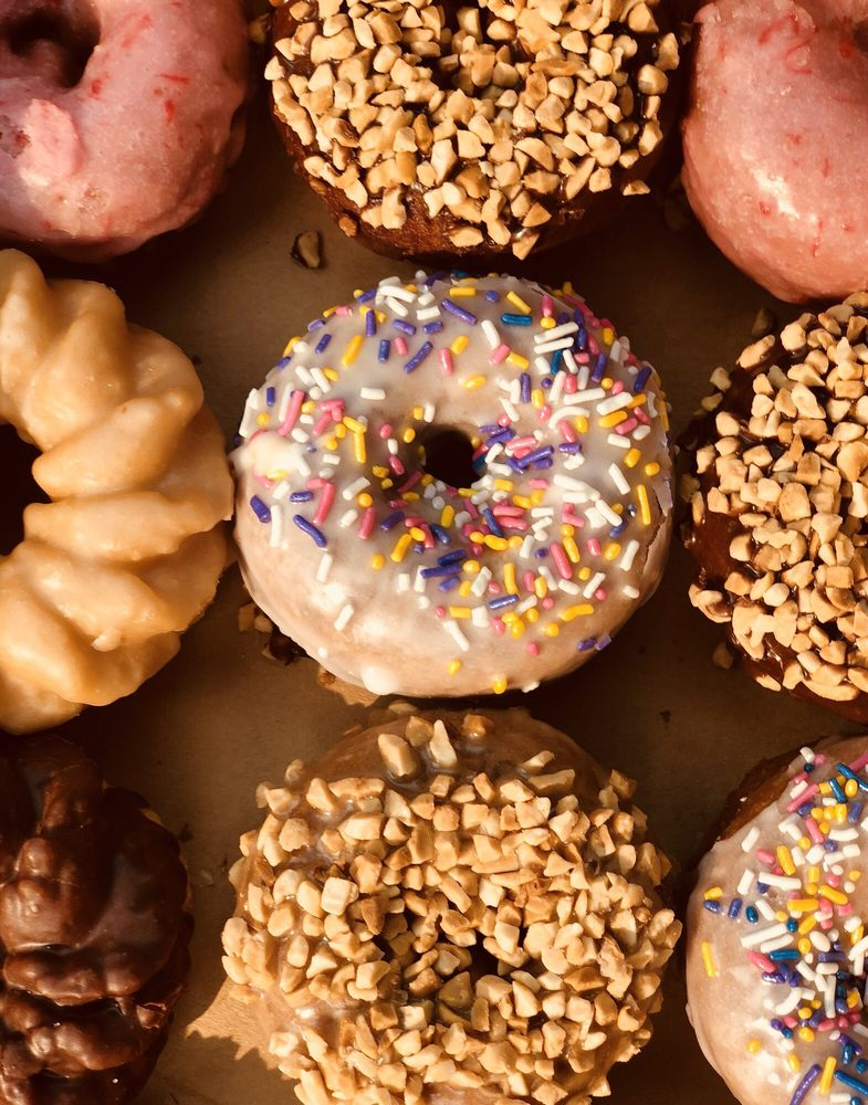 Mike's Old Fashioned Donuts: 9219 E Sprague Ave, Spokane Valley, WA