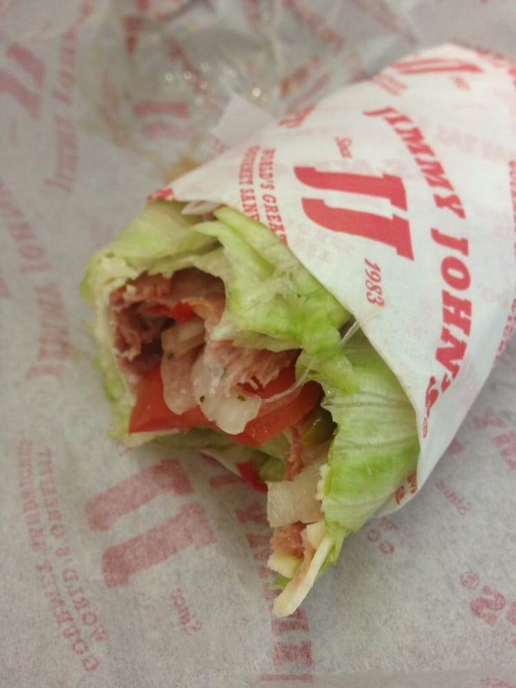 swot jimmy johns sandwich Hungry if an eight-inch sub isn't enough to satisfy, jimmy john's now has a giant of a 'wich with as many as 2190 calories.