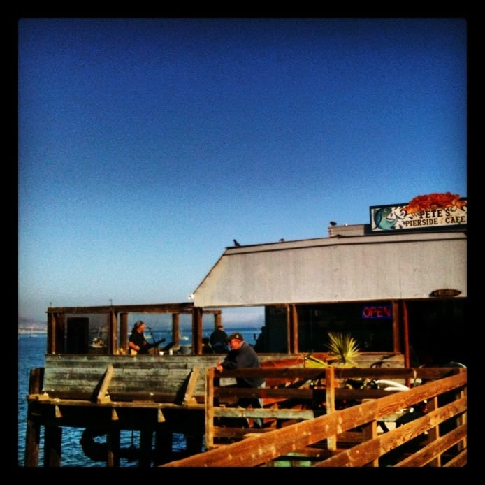 Restaurant In Avila Beach On The Pier