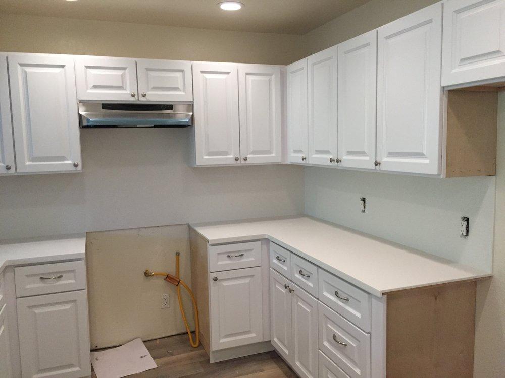 Photo Of Creative Countertops   Santa Barbara, CA, United States. Solid  Surface Kitchen