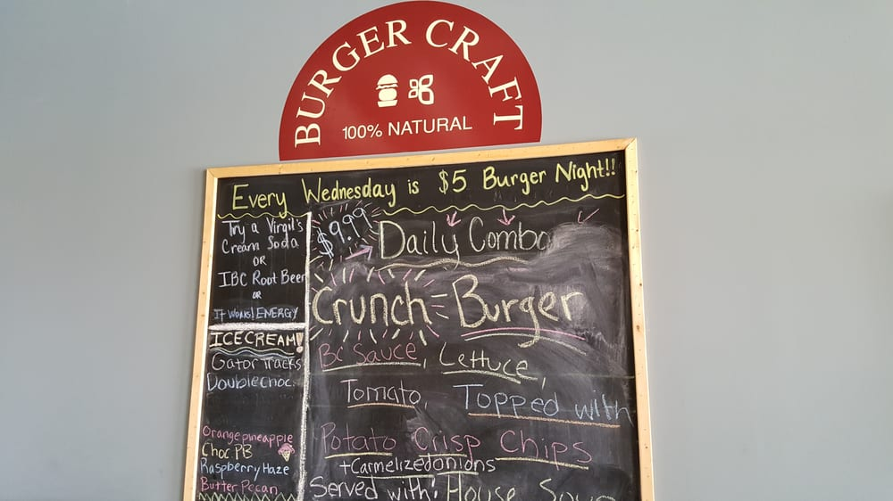 Burger Craft Clermont Fl