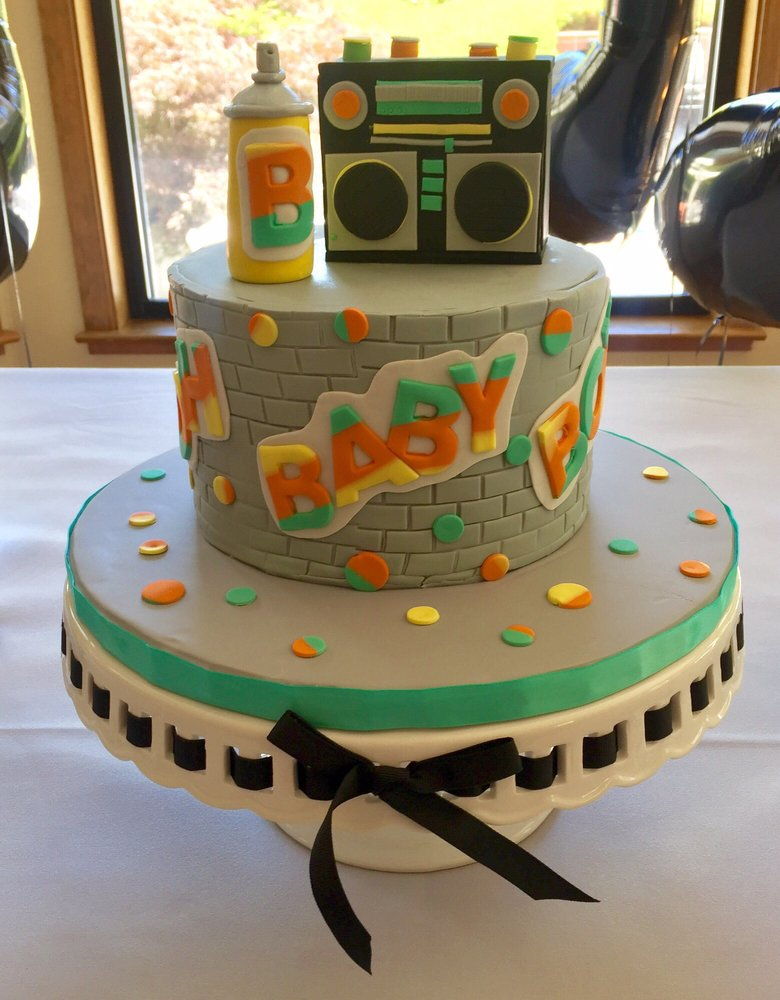 Hip Hop Themed Baby Shower Cake Yelp