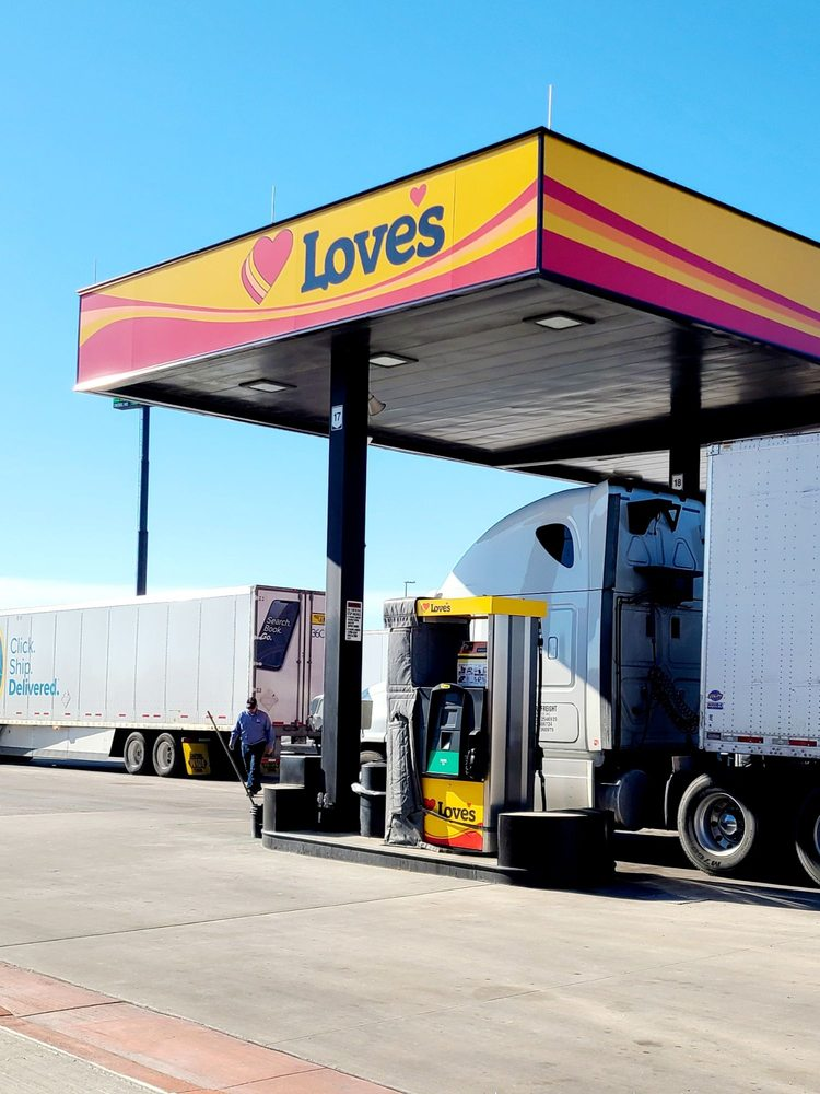 Love's Travel Stop: 201 Loves Dr, South Jacksonville, IL