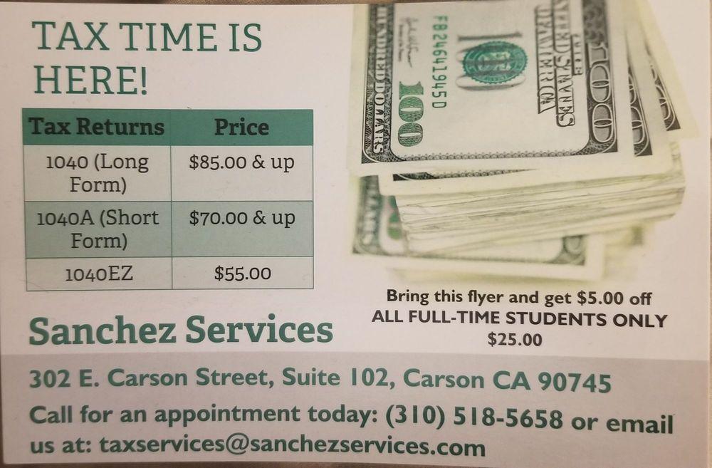 Sanchez Services: 302 E Carson St, Carson, CA