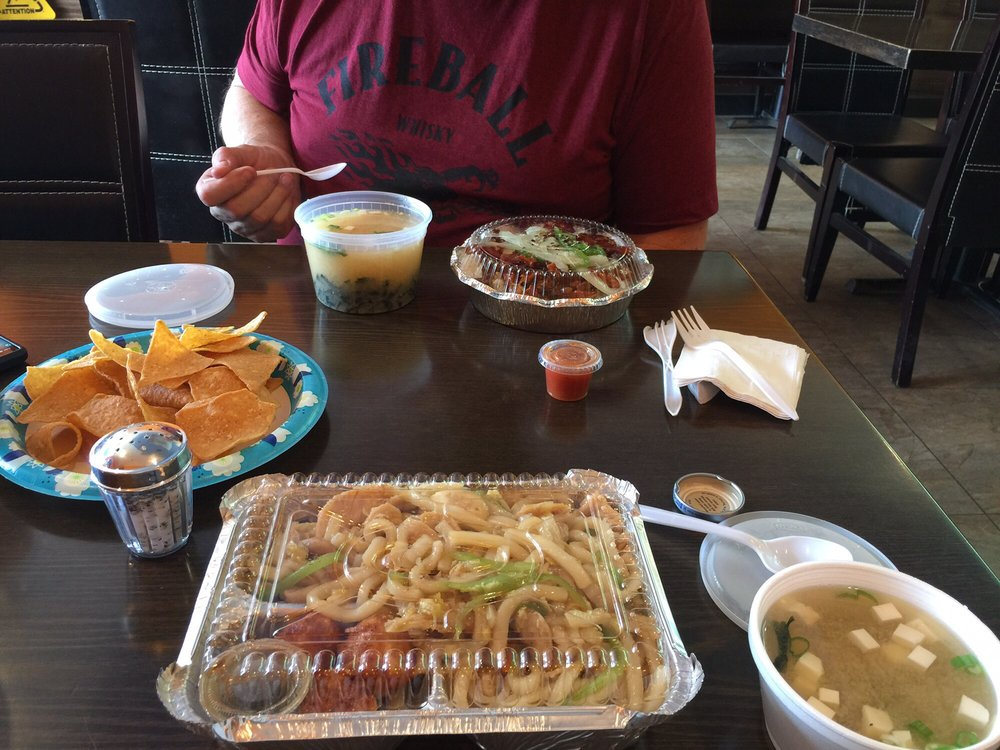 Food from Yummy Taco