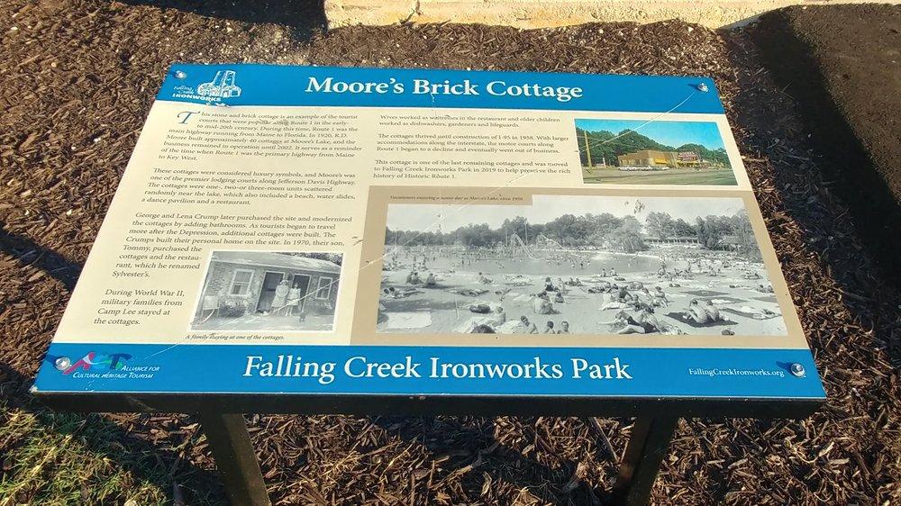 Falling Creek Ironworks Park: 6407 Jefferson Davis Hwy, Richmond, VA