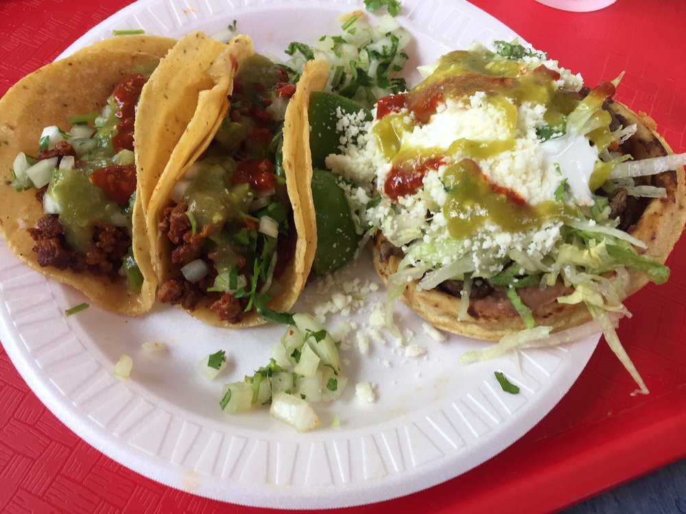 Food from San Diego Tacos Shop