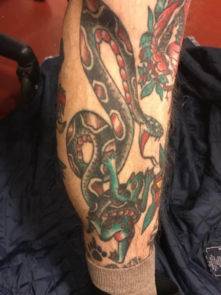 King Cobra Tattoo: 127 E Beaver Ave, State College, PA