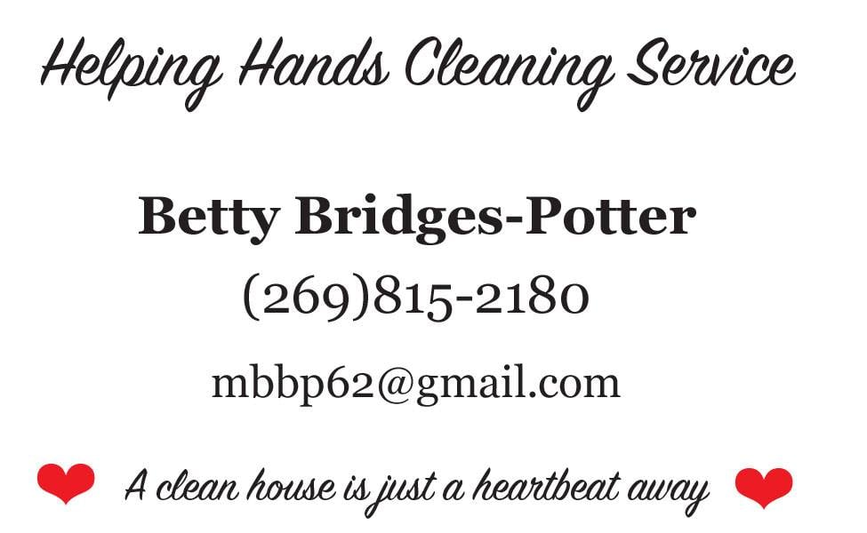 Betty's Helping Hands Cleaning Service: Berrien Springs, MI