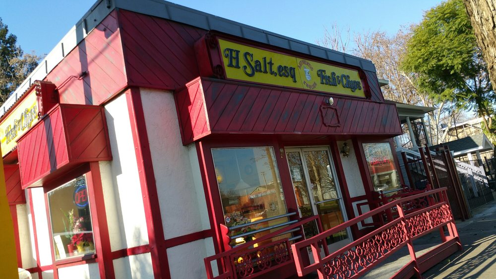 H salt fish chips seafood galley 51 photos 63 for Fishing store sacramento